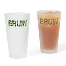 Bruin, Vintage Camo, Drinking Glass