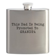 Cute Promoted to grandpa Flask