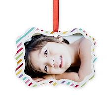 Stripe Custom Ornament