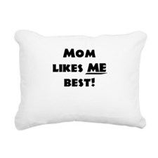 MomBest_Shirt.png Rectangular Canvas Pillow