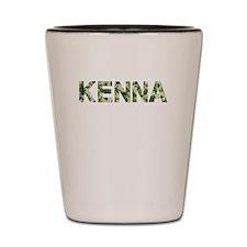 Kenna, Vintage Camo, Shot Glass