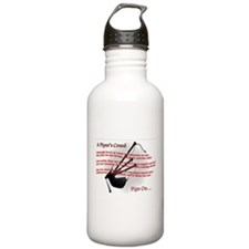 Piper's Creed (White) Water Bottle