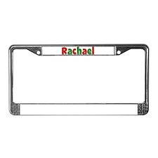 Rachael Christmas License Plate Frame