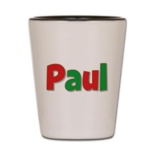 Paul Christmas Shot Glass