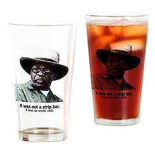 Cool Mayor Drinking Glass