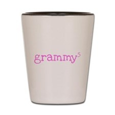 Grammy to the Fifth Power Shot Glass