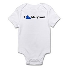 I DJ Maryland Infant Bodysuit