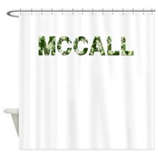Mccall, Vintage Camo, Shower Curtain