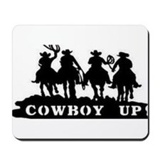 Cowboy Up Mousepad