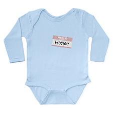 Cool Haylee Long Sleeve Infant Bodysuit