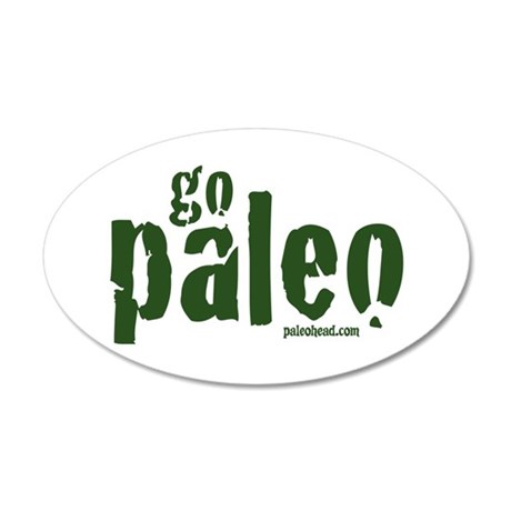 Go Paleo 35x21 Oval Wall Decal