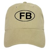 FB_white_oval.png Baseball Cap