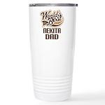 Nekita Dog Dad Ceramic Travel Mug