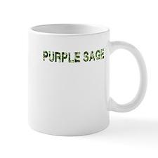 Purple Sage, Vintage Camo, Mug