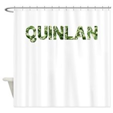 Quinlan, Vintage Camo, Shower Curtain