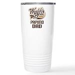 Papimo Dog Dad Ceramic Travel Mug