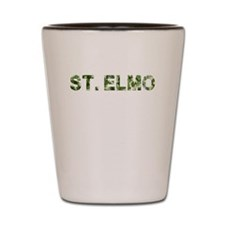 St. Elmo, Vintage Camo, Shot Glass