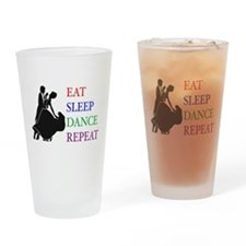 Cute Ballroom dance Drinking Glass