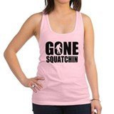 Gone sqautchin 2 Racerback Tank Top