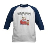 Ready to Roll Firefighter Kids Shirt