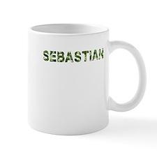 Sebastian, Vintage Camo, Mug