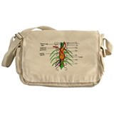 McDerMer's Wall Painting Messenger Bag