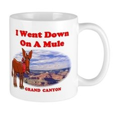 Grand Canyon Mule Small Mugs