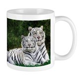 White Tigers Small Mug