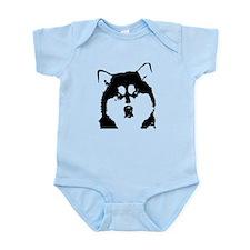 Dignified Alaskan malamute Infant Bodysuit