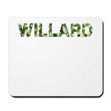Willard, Vintage Camo, Mousepad