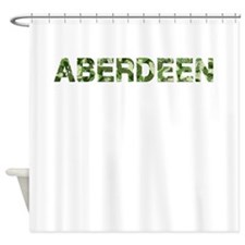 Aberdeen, Vintage Camo, Shower Curtain