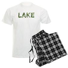 Lake, Vintage Camo, Pajamas