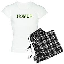 Homer, Vintage Camo, Pajamas