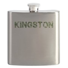 Kingston, Vintage Camo, Flask