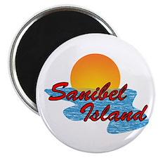 Sanibel Sunset Magnet