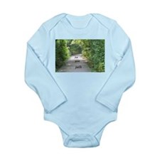 find your path Long Sleeve Infant Bodysuit