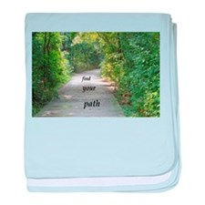 find your path baby blanket