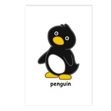 Cartoon Penguin Postcards (Package of 8)