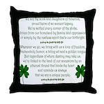 'We Are The Irish' Throw Pillow