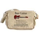 Bass Guitar LFG Messenger Bag