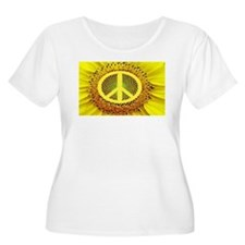 Sunflower Peace T-Shirt