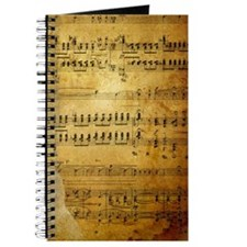 Sheet Music, Vintage, Journal