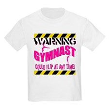Warning_Gymnast.jpg T-Shirt
