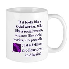 Unique School social worker Mug