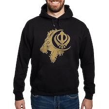 Singh Sikh Symbol 1 Hoodie