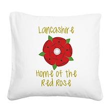 Lancashire Square Canvas Pillow