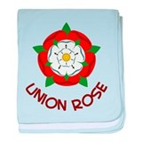 Union Rose baby blanket