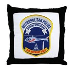 DC Aviation Unit Throw Pillow