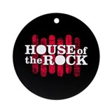 """House of the Rock"" Logo Ornament (Round"