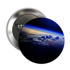"Cloud Cover over the Earth 2.25"" Button"